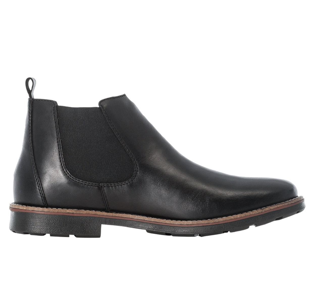 Rieker 35382-00 støvle, nero/sort, 41