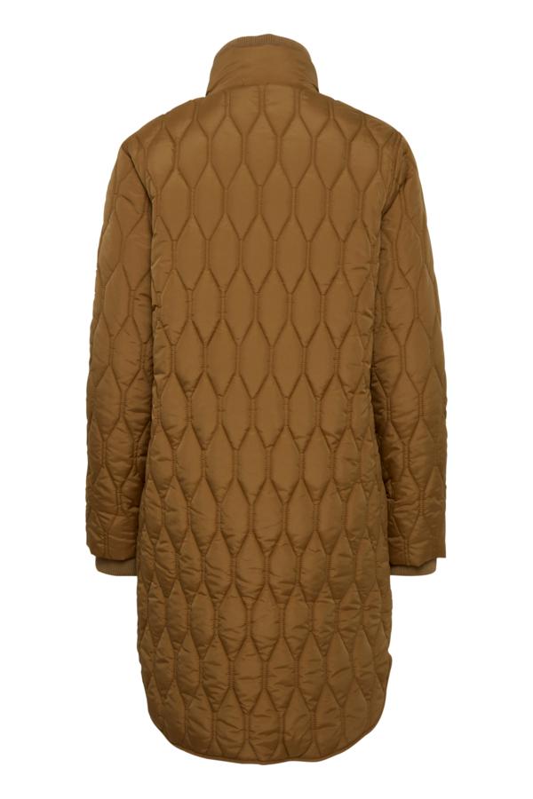 Fransa Frbaquilt jakke, tobacco brown, x-large