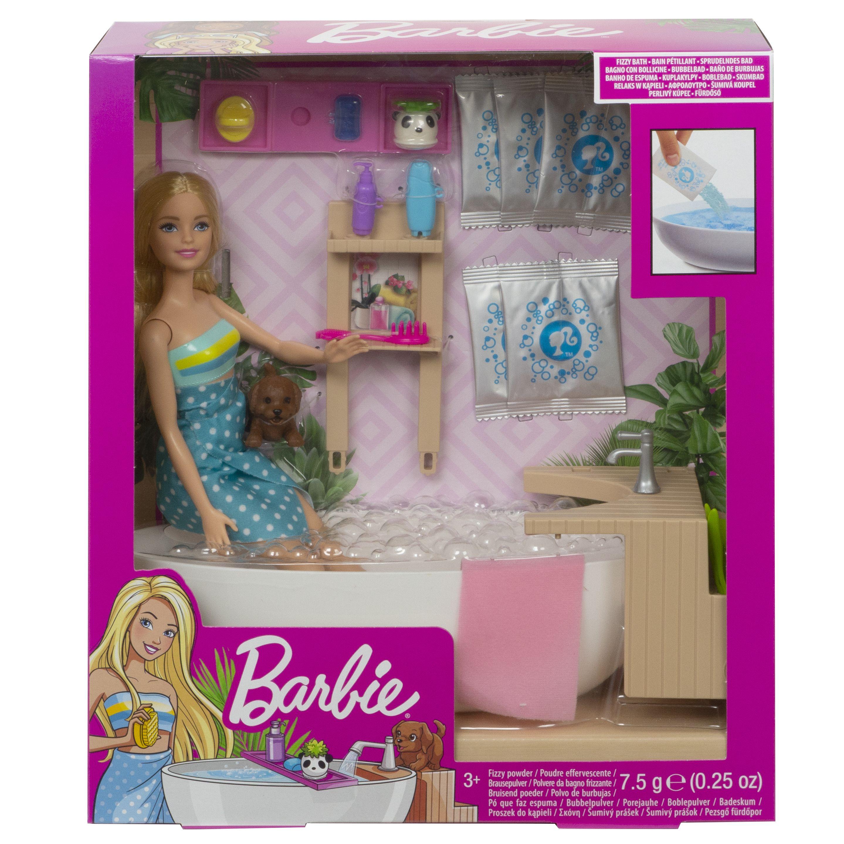 Barbie Wellness Badekar