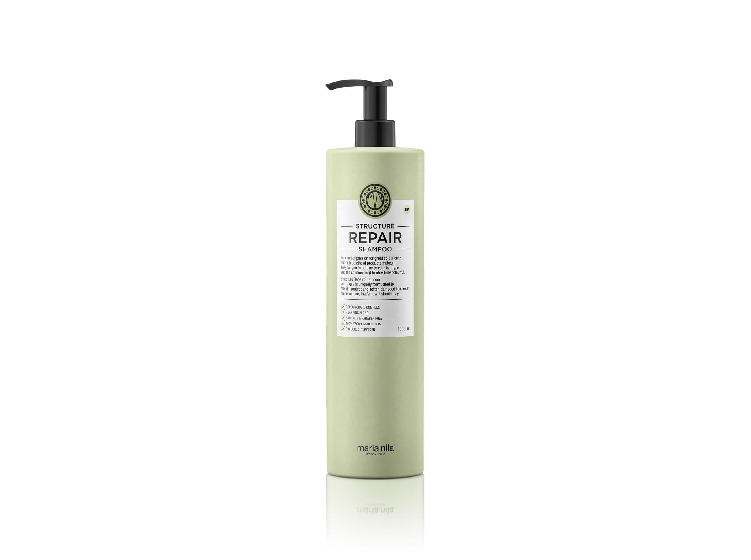 Maria Nila Structure Repair Shampoo, 1000 ml