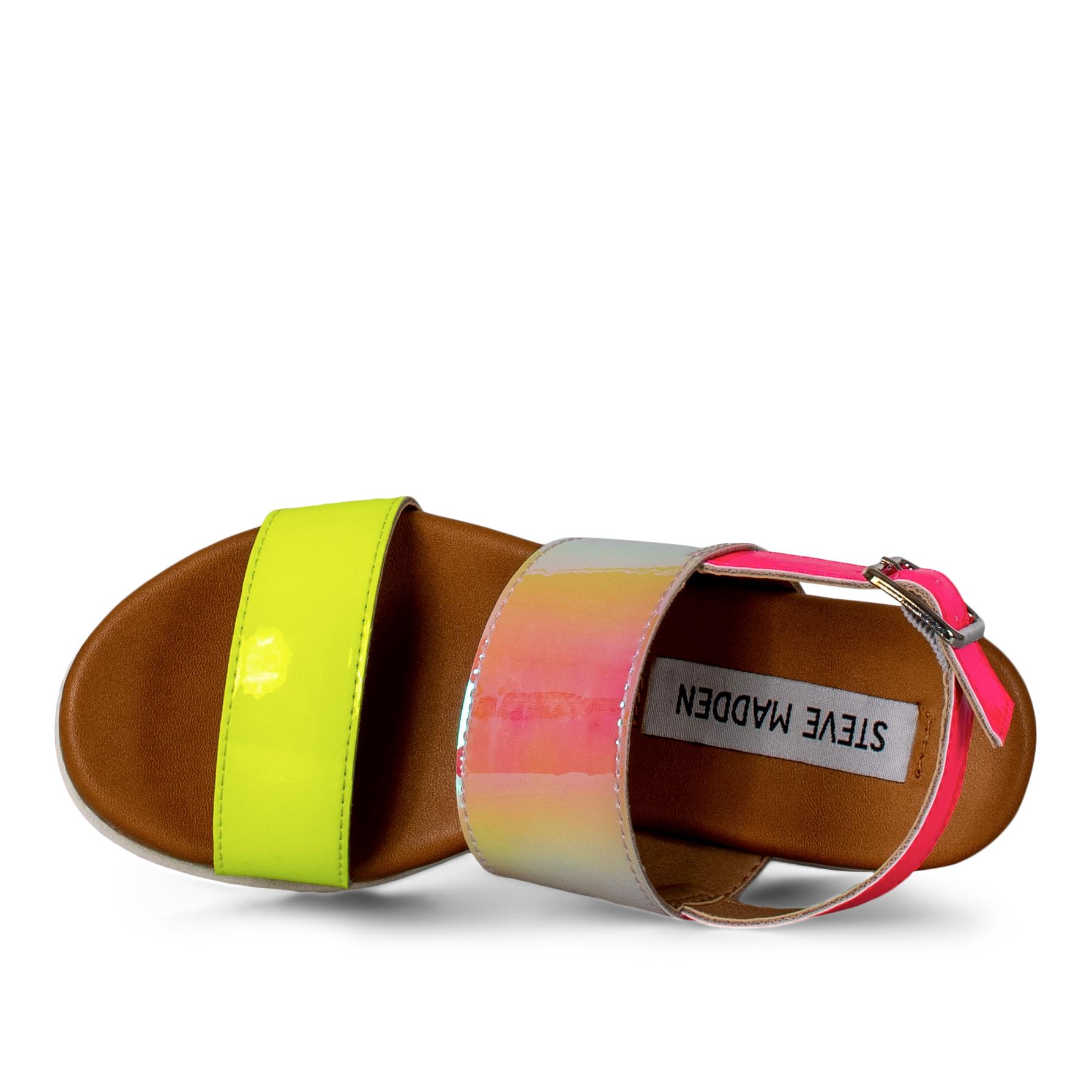 Steve Madden JKandy sandal, multicolor, 31