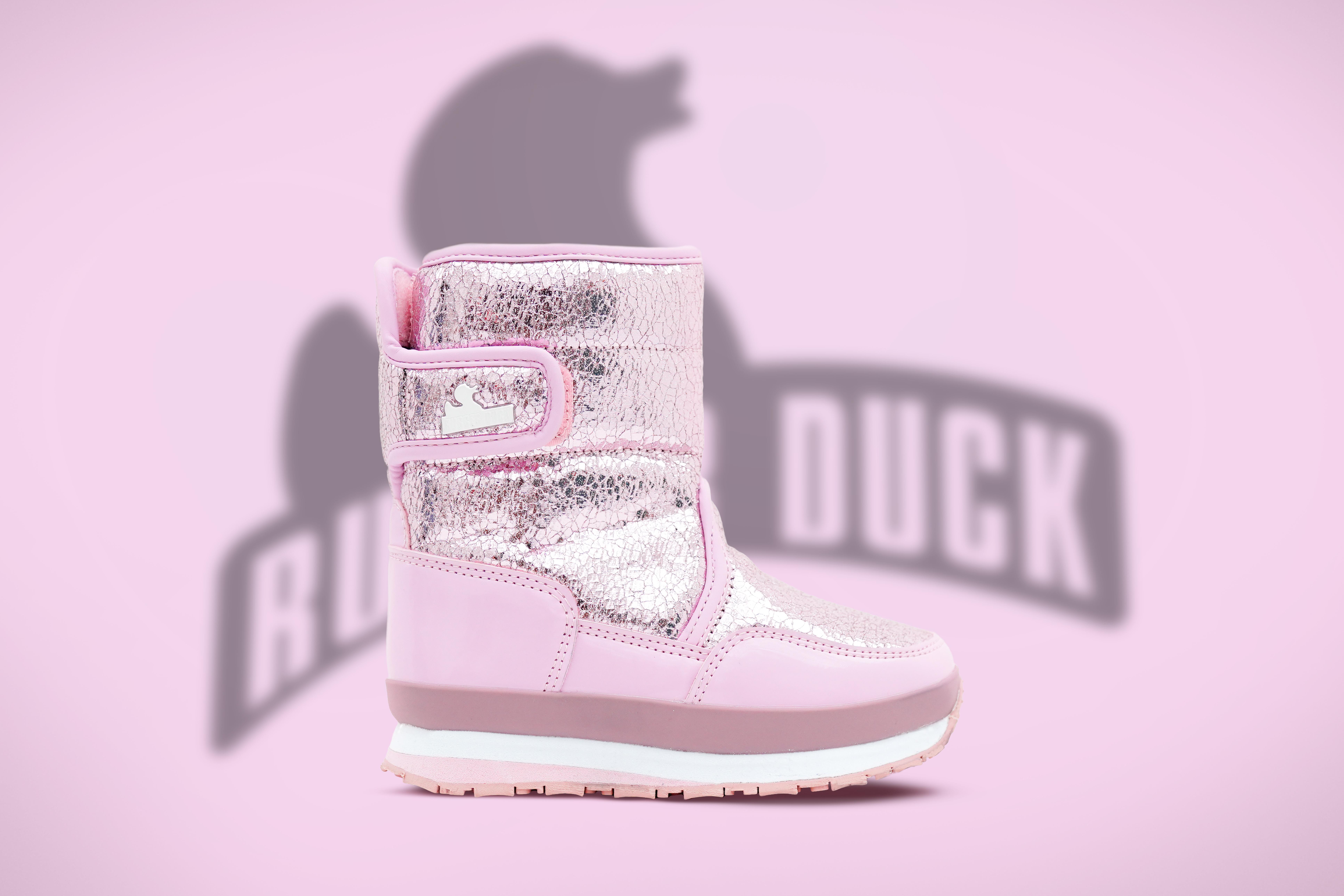 Rubber Duck Snowjogger støvle, rosegold, 26
