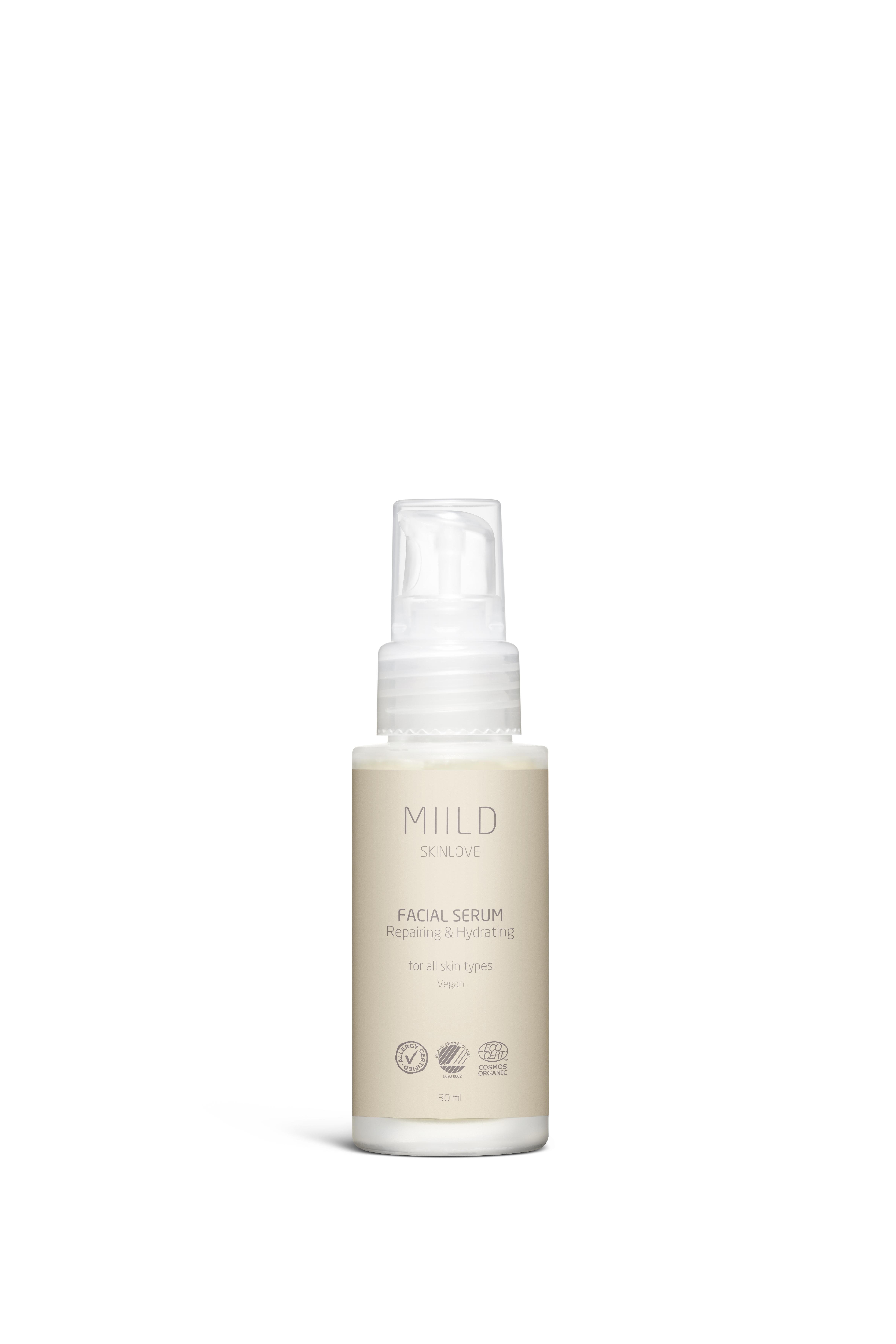 Miild Repairing & Hydrating Facial Serum, 30 ml
