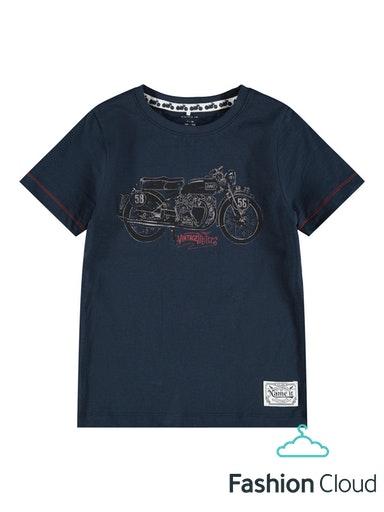 Name It Bikers T-shirt, Dark Sapphire, 122-128 cm