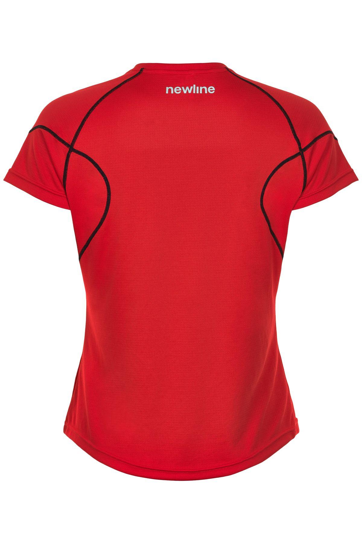 Newline W Core Coolskin t-shirt, red, x-small