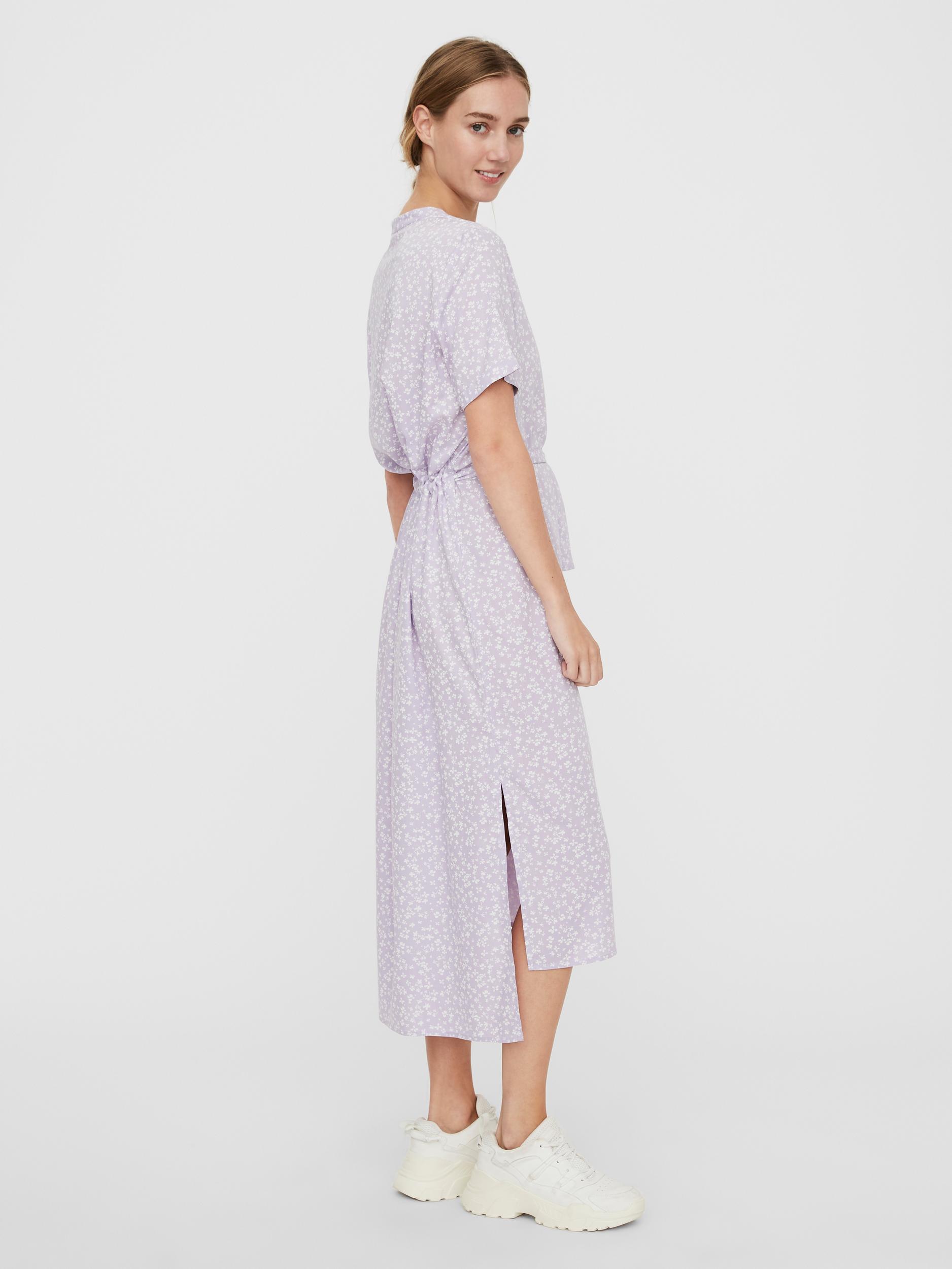 Vero Moda Simone midi-kjole, pastel lilac, medium