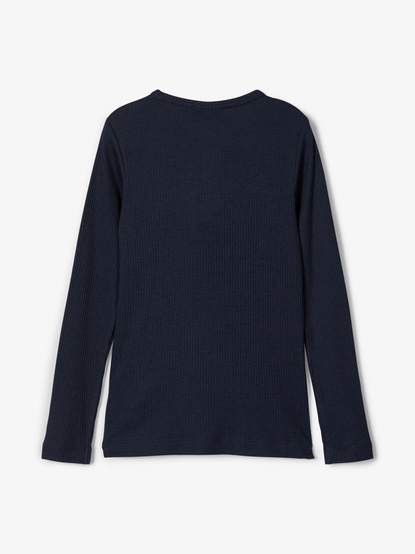 Name It Kabille LS t-shirt, dark sapphire, 146-152