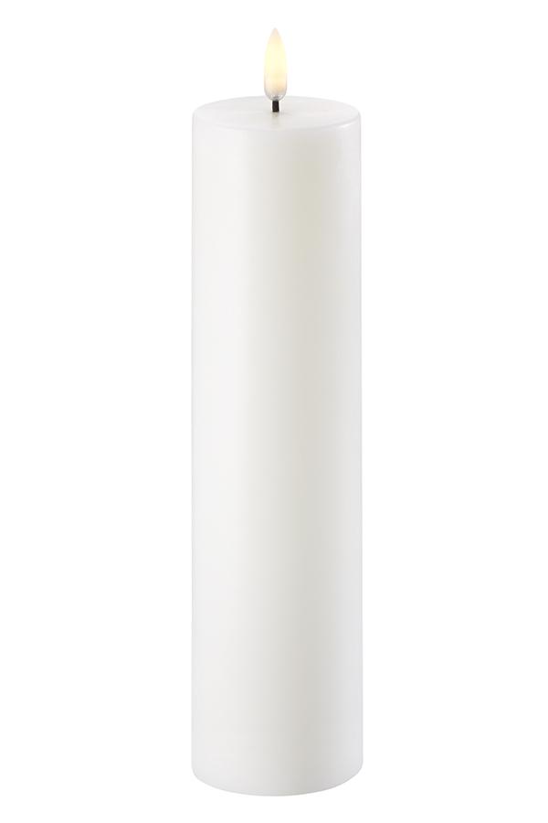Uyuni LED bloklys, 6x23 cm, nordic hvid