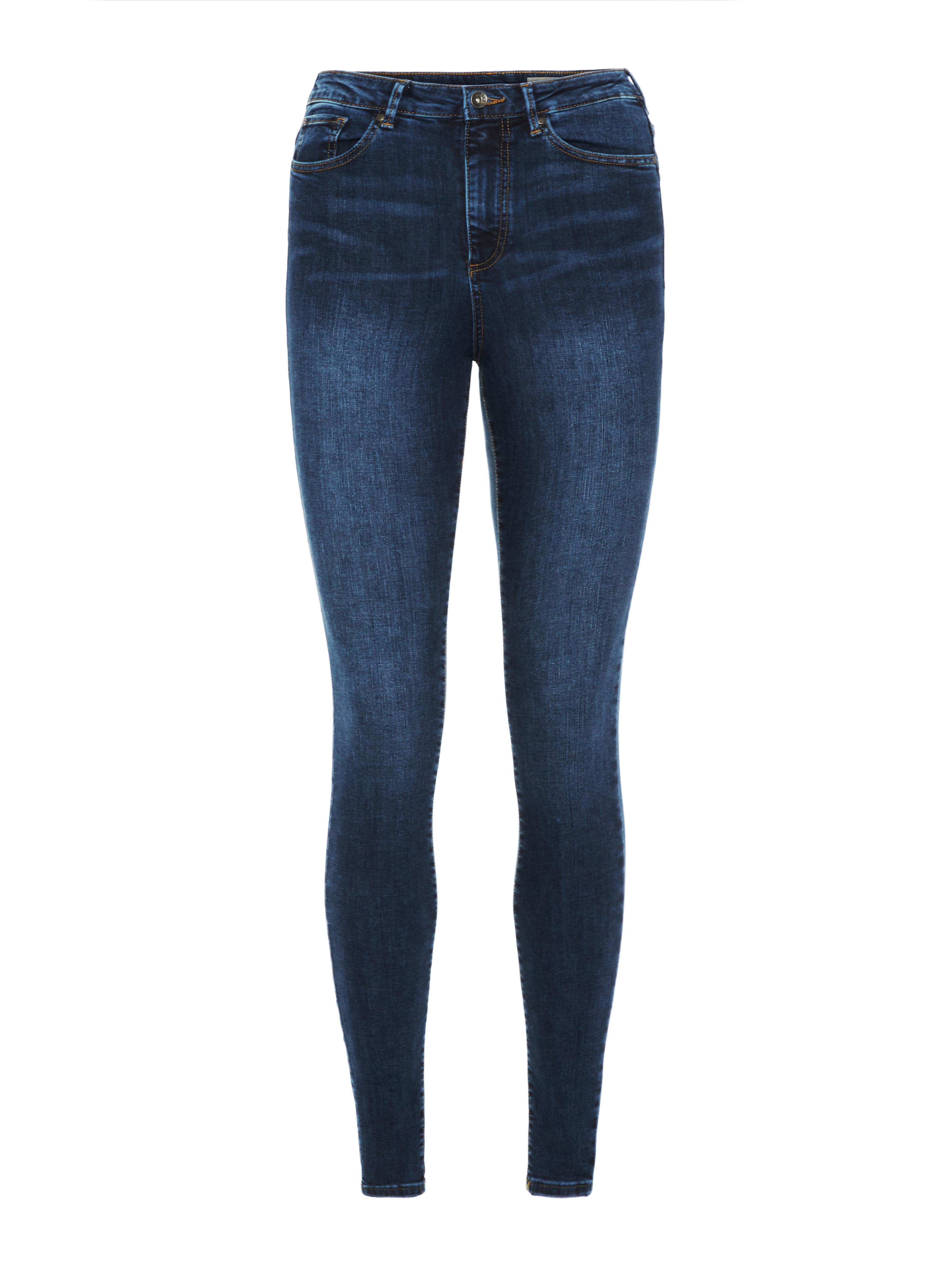 Vero Moda Sophia højtaljede bukser skinny fit, blue, large/30