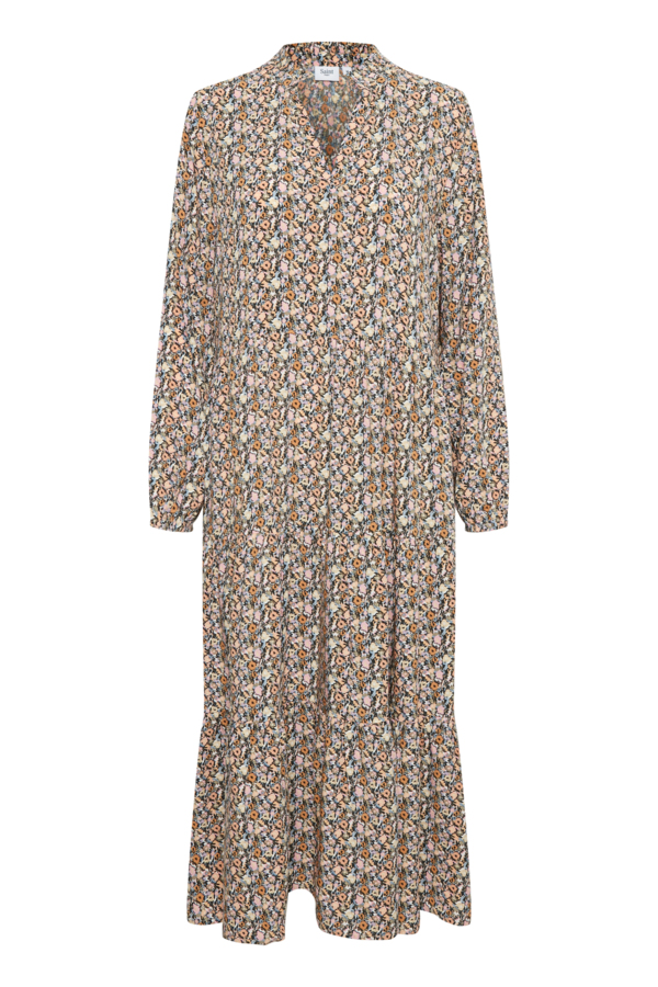 Saint Tropez EdaSZ Maxi kjole, bright white optimism florals, small
