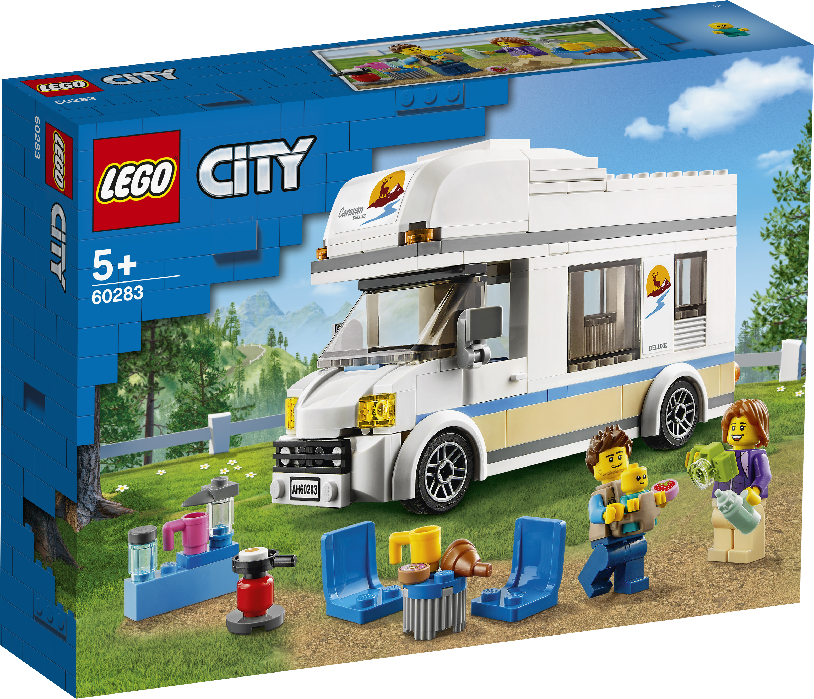 LEGO City Ferie-autocamper - 60283