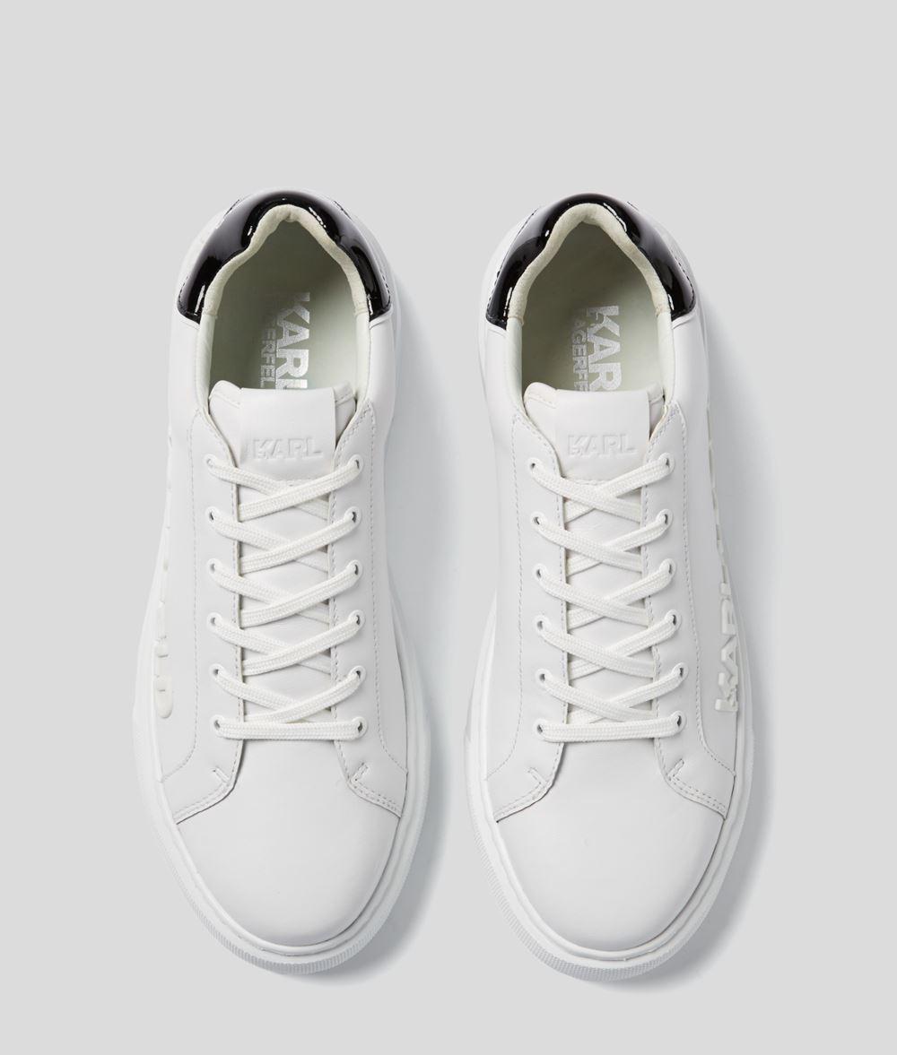 Karl Lagerfeld Maxi Kup Logo sneakers, white, 41