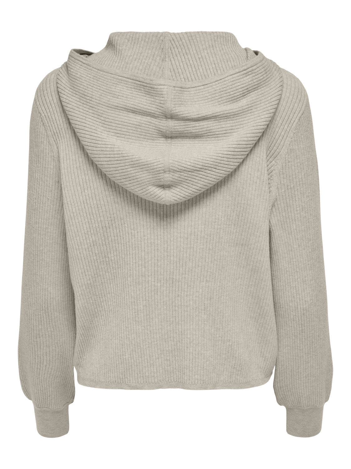 Only Florelle Life strik hoodie, silver lining, small