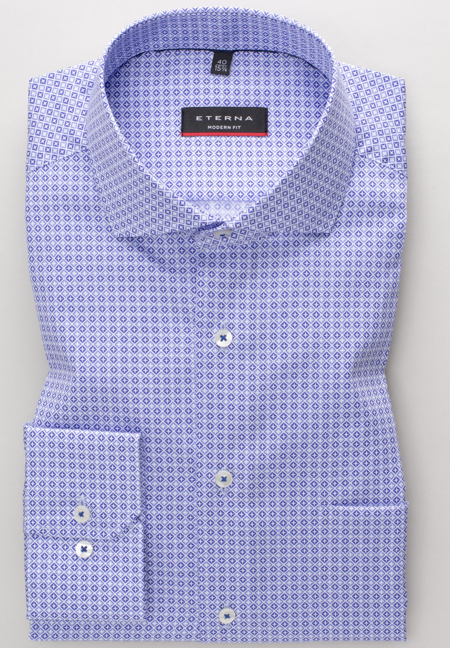 Eterna LS skjorte, modern fit