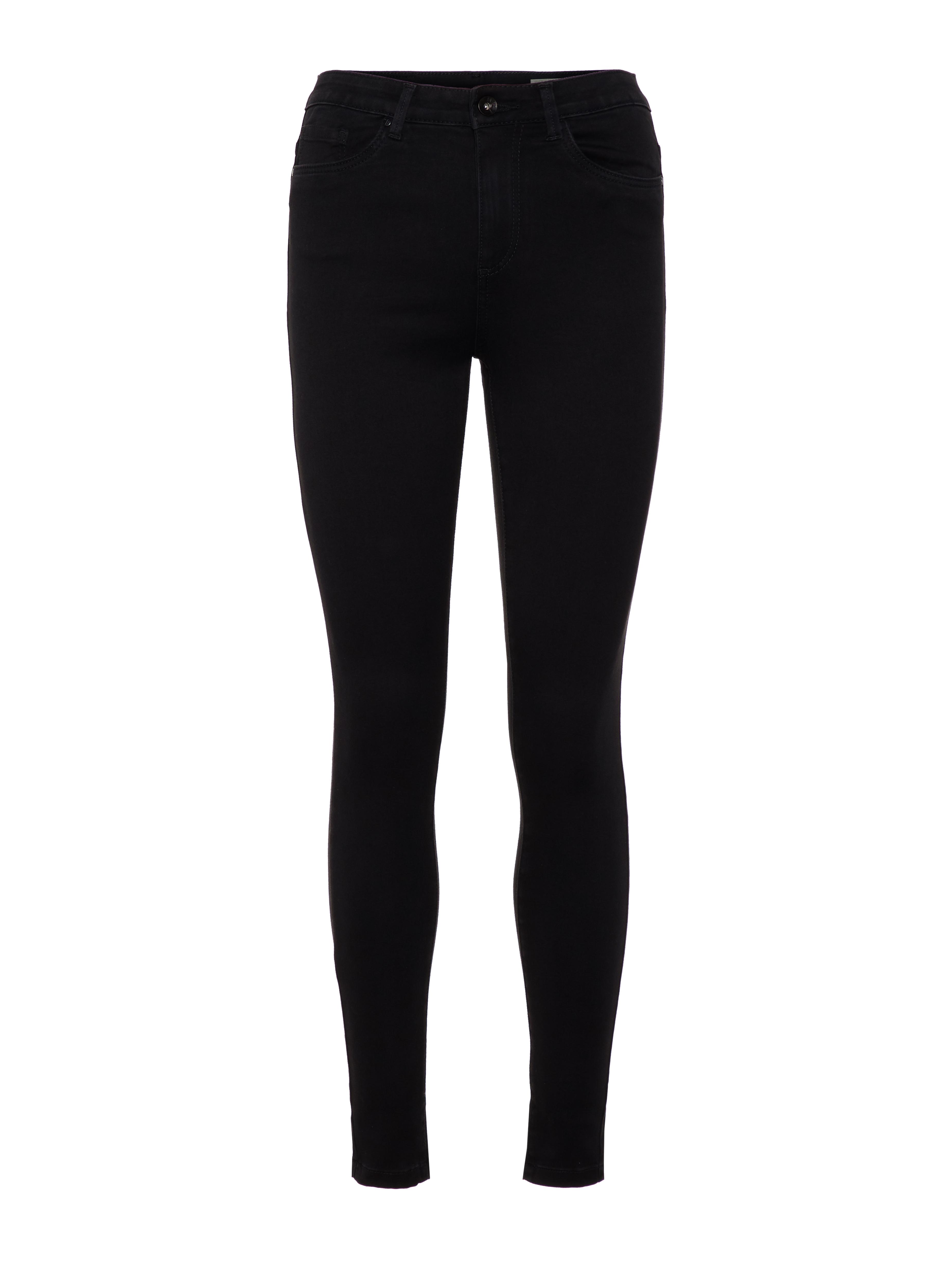 Vero Moda Sophia højtaljede bukser skinny fit, black, x-large/34