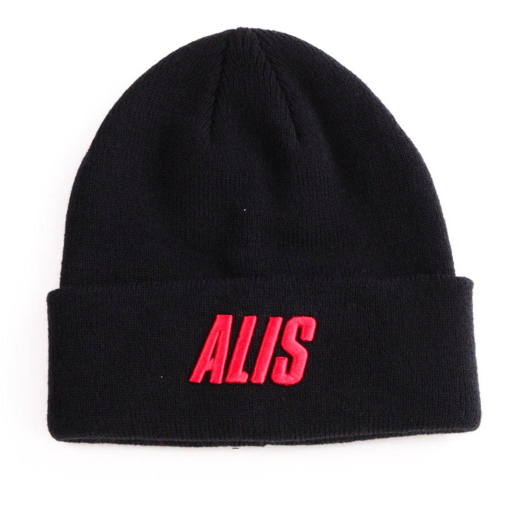 ALIS Letters Folded beanie, black