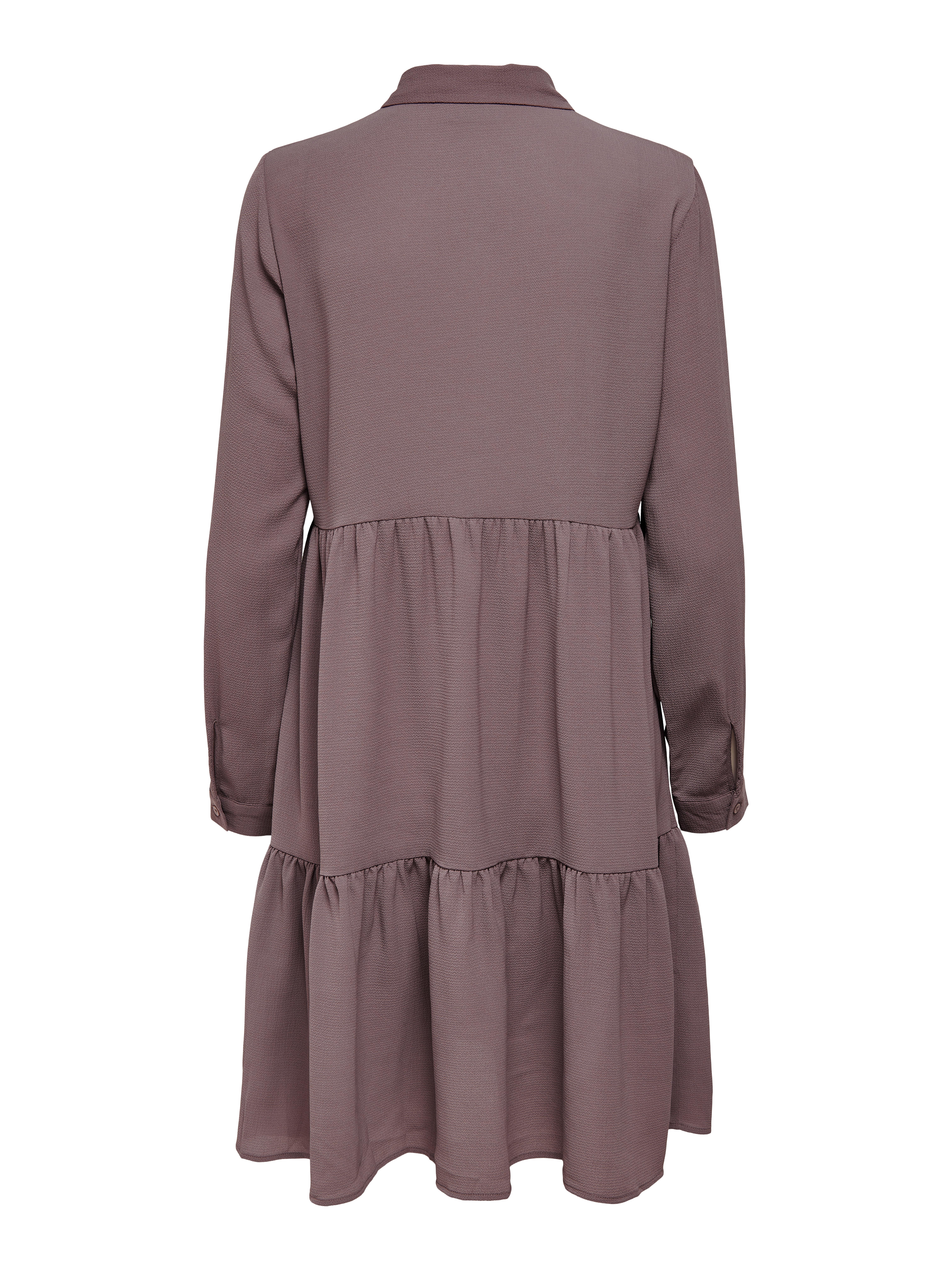 Jacqueline de Yong Piper skjortekjole, Rose Taupe, 42
