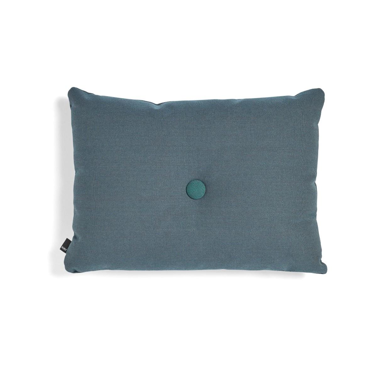 HAY Dot Cushion Steelcut pyntepude, 45x60 cm, racing green
