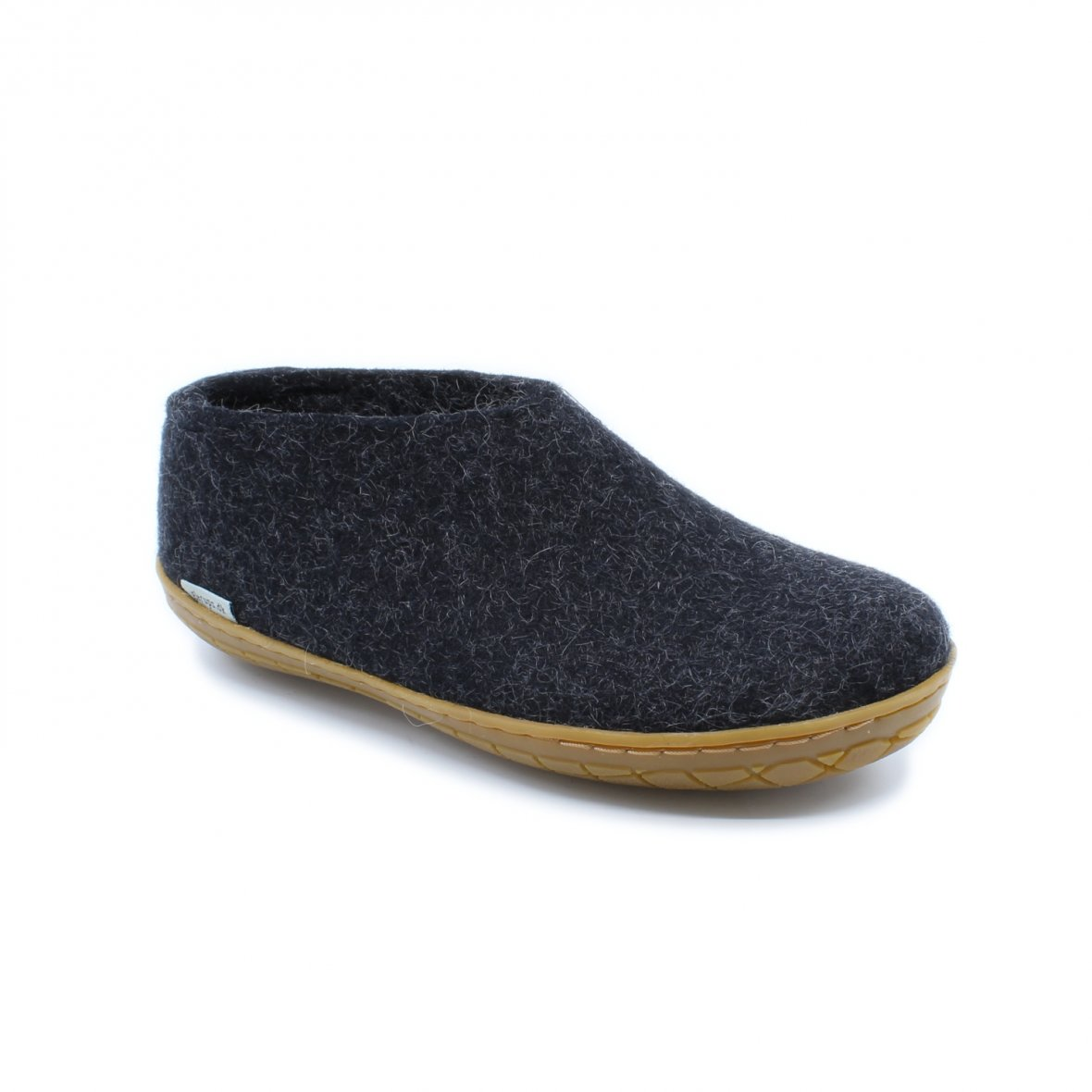 Glerups sko med naturgummisål, koksgrå, 40