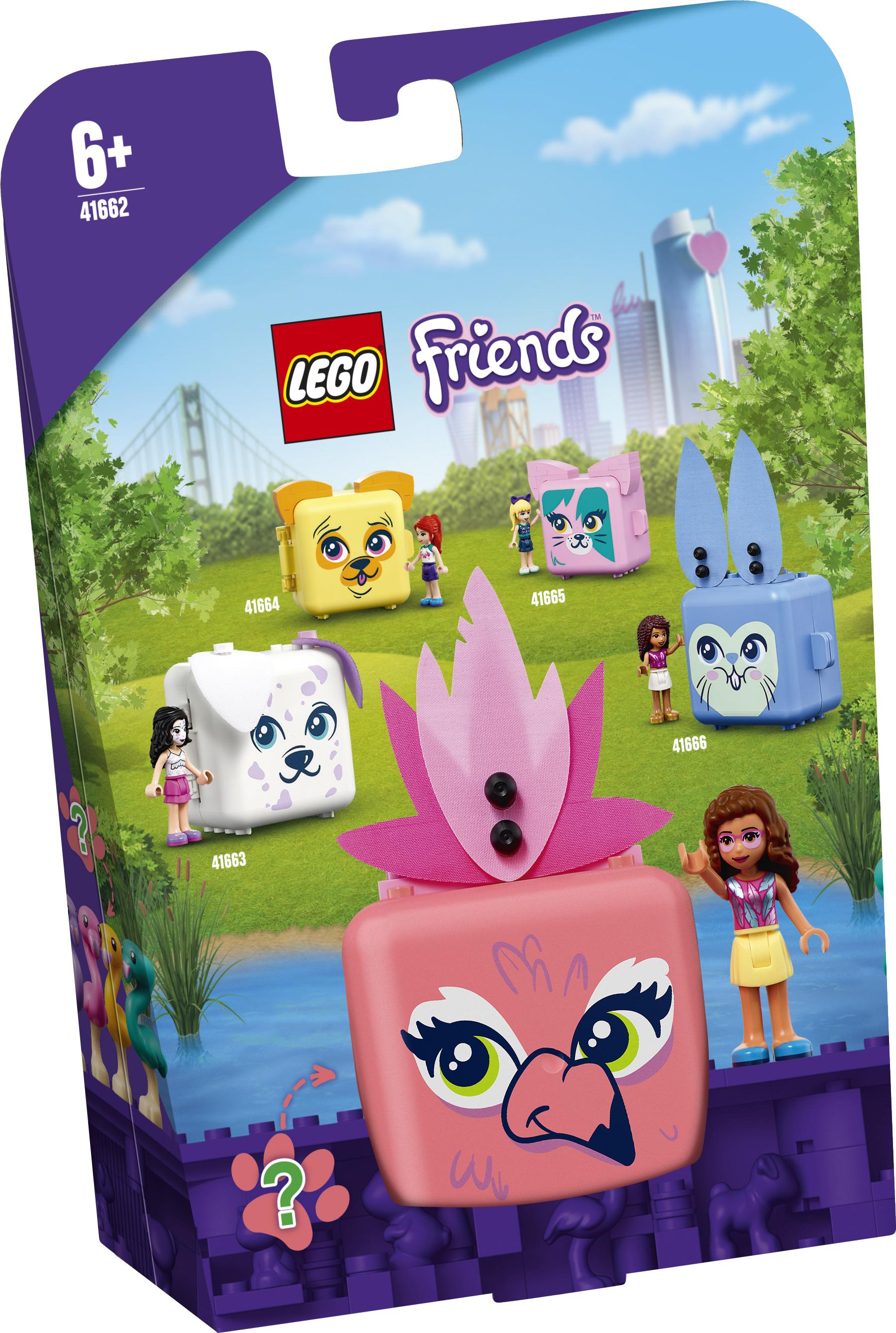 LEGO Friends Olivias flamingoboks - 41662