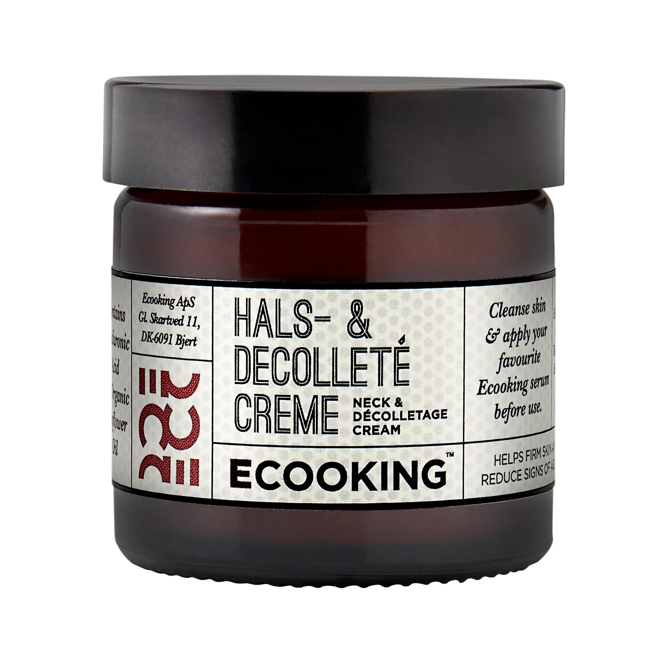 Ecooking Hals- & Decolleté Creme, 50 ml