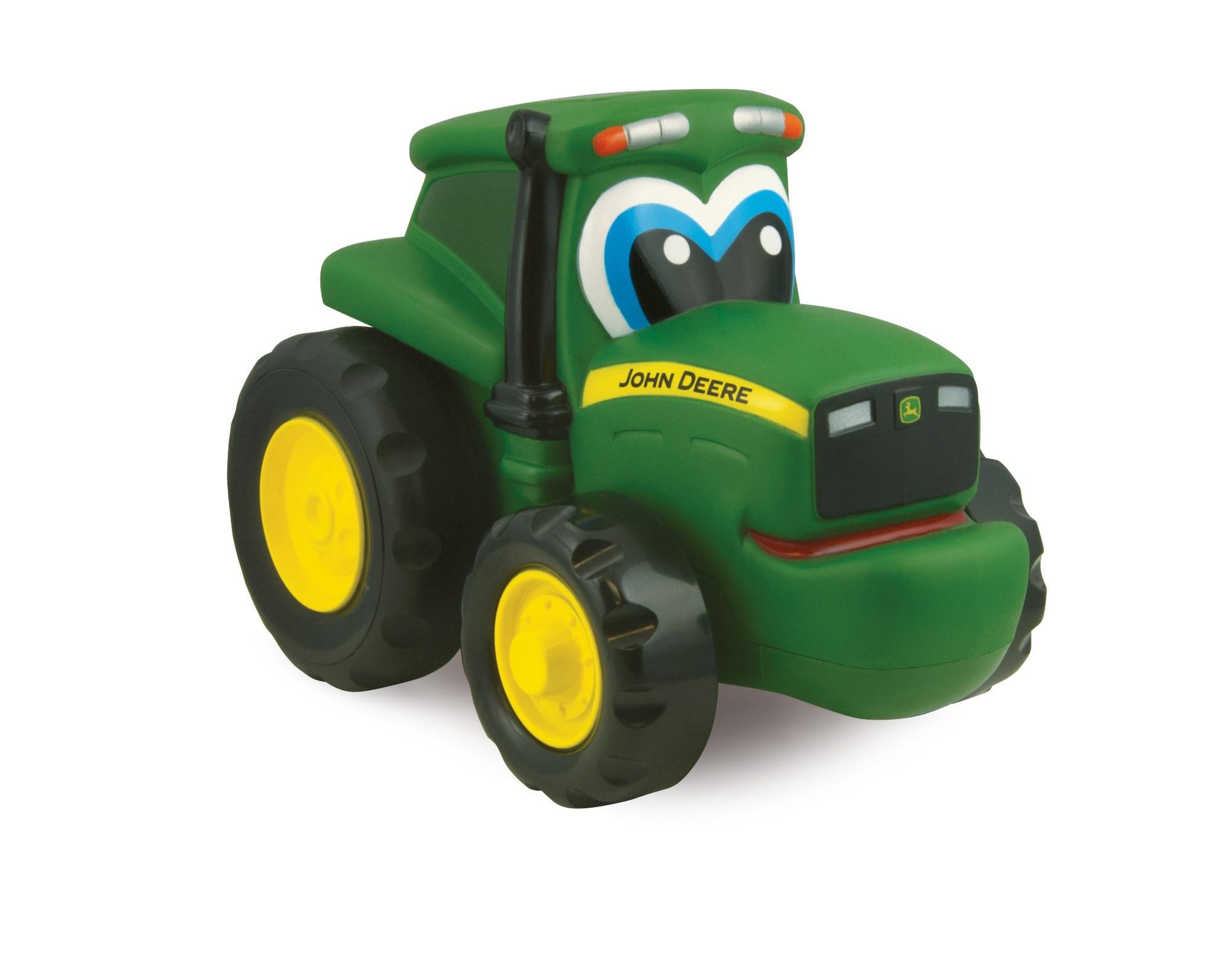 John Deere Johnny skub og rul traktor