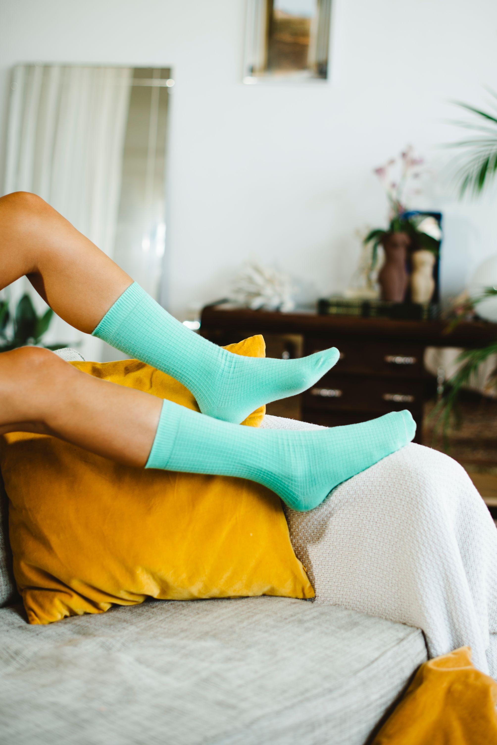 Doiy Yoga Mat strømper, grøn