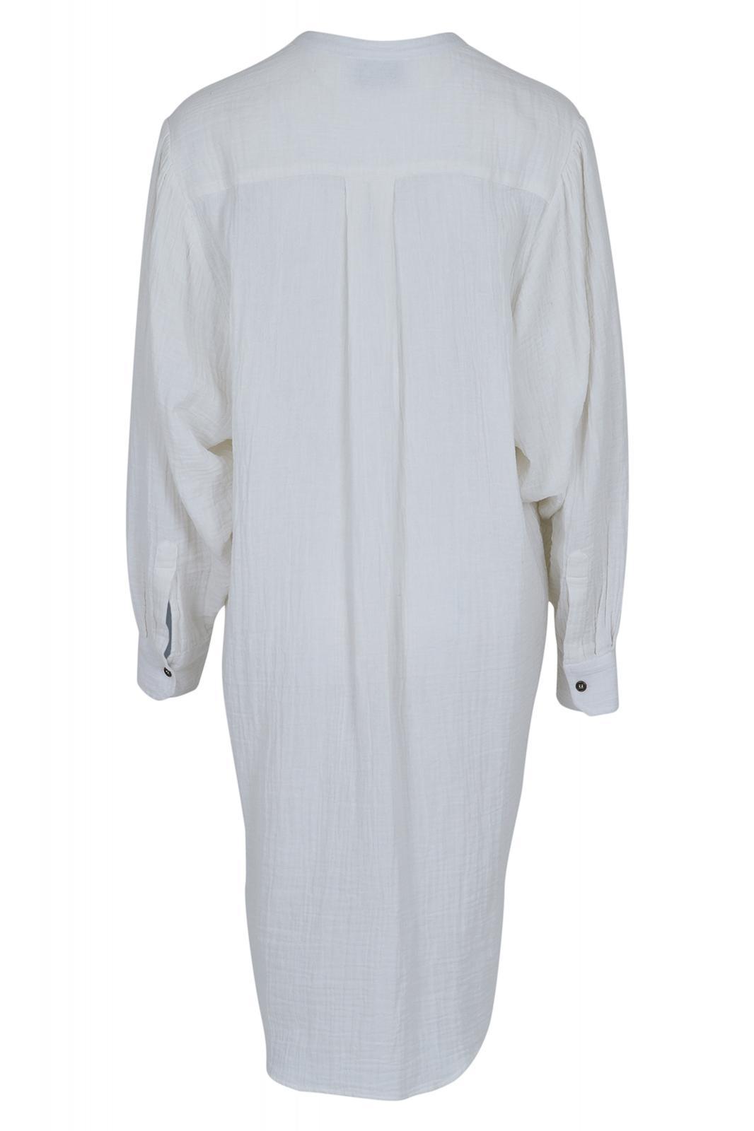 Neo Noir Kendell skjortekjole, off white, x-small