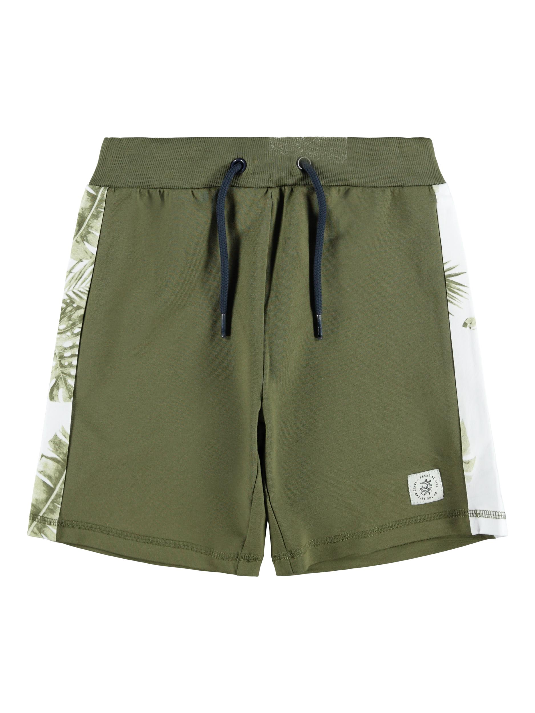 Name It Hanry sweat shorts, ivy green, 134