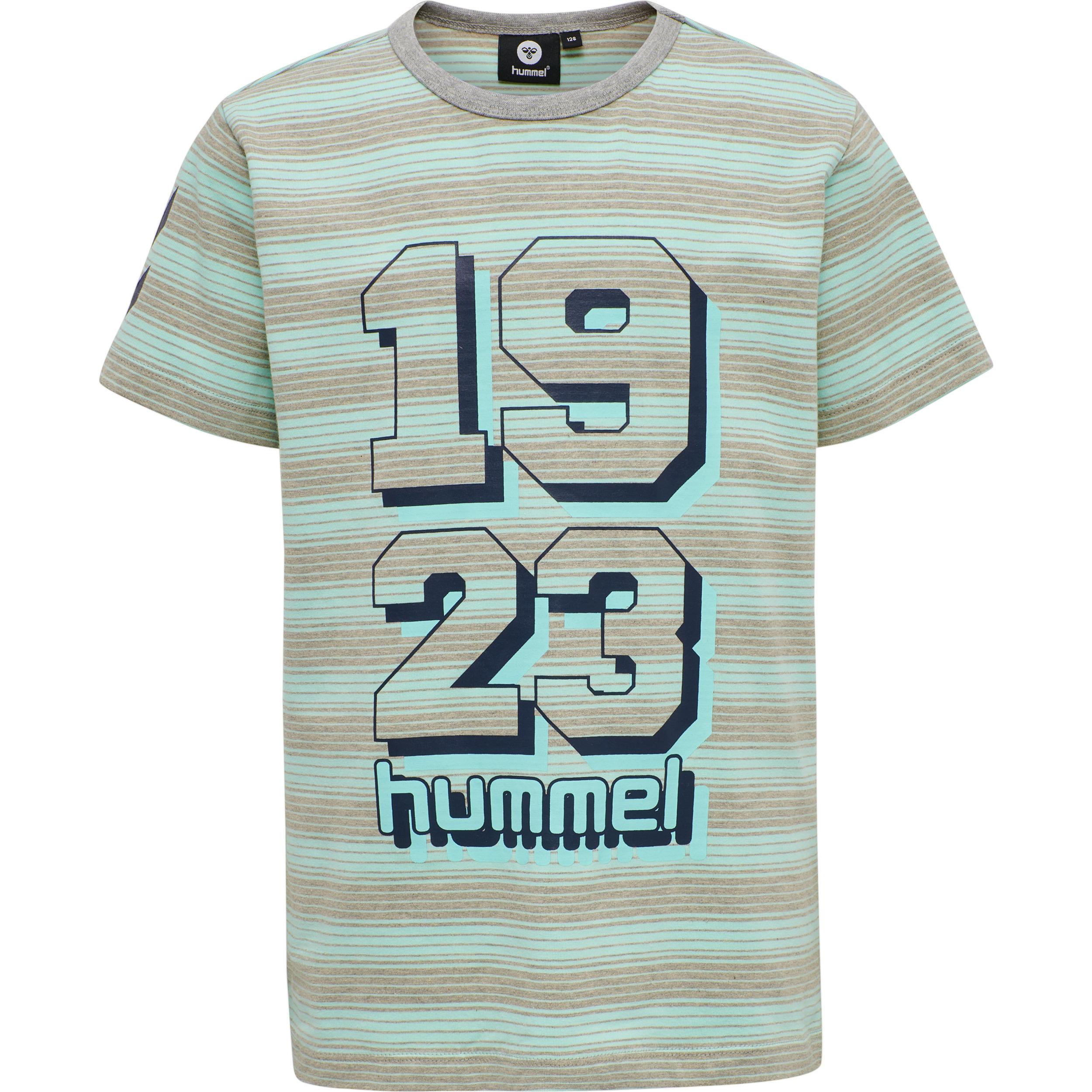Hummel Mack t-shirt, blue tint, 116