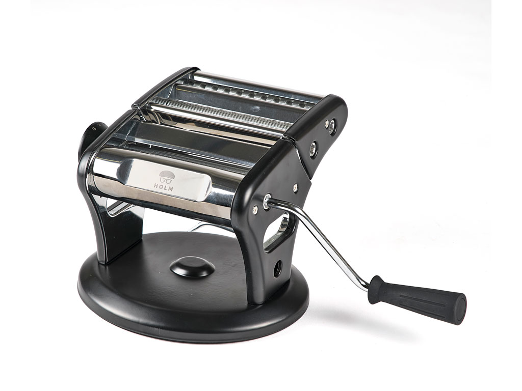 HOLM pastamaskine, 21x16 cm, sort