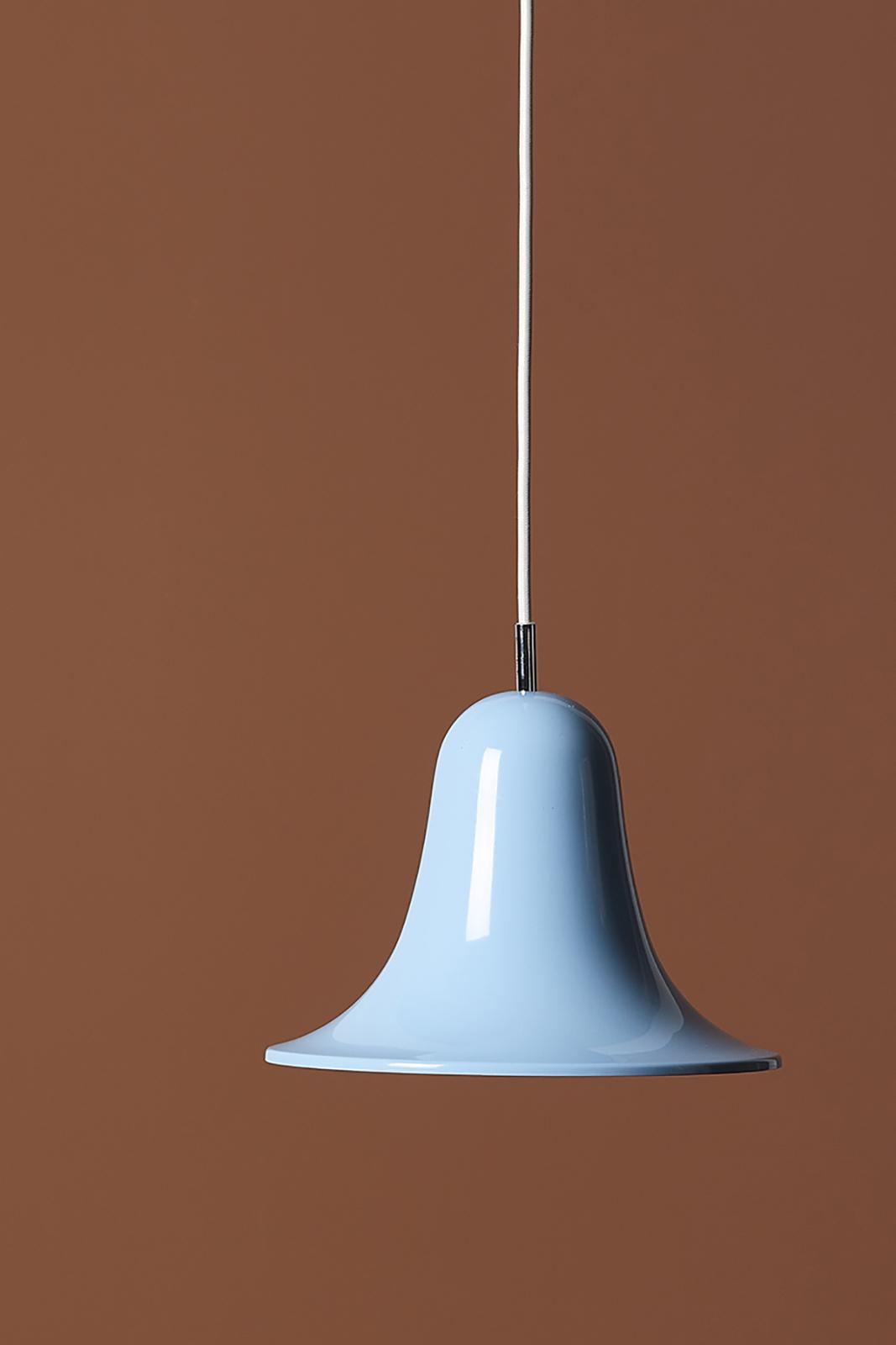 Verner Panton Pantop pendel, 23 cm, light blue