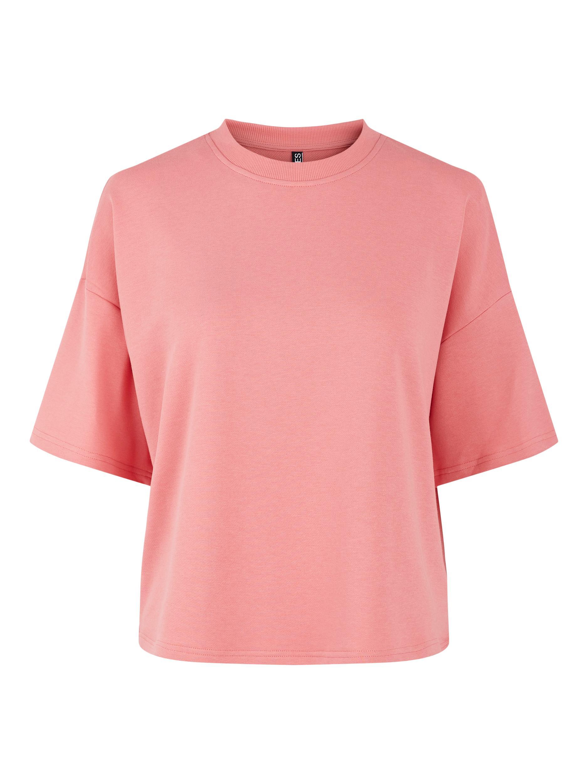 Pieces Chilli Summer t-shirt, tea rose, medium
