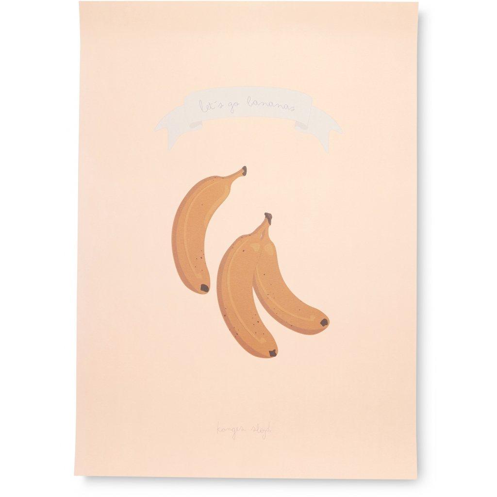 Konges Sløjd plakat, Lets go bananas