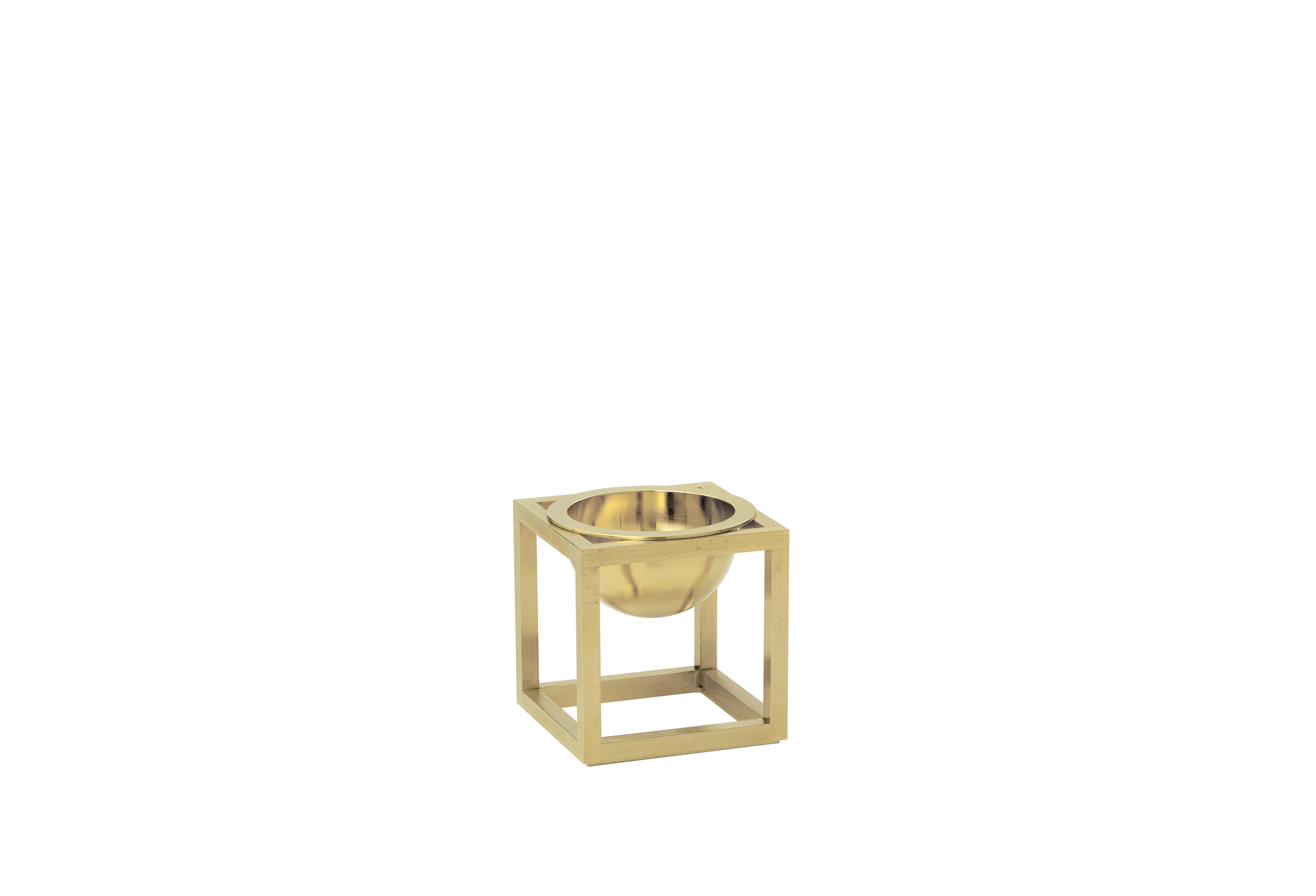 ByLassen Kubus Bowl, mini, messing
