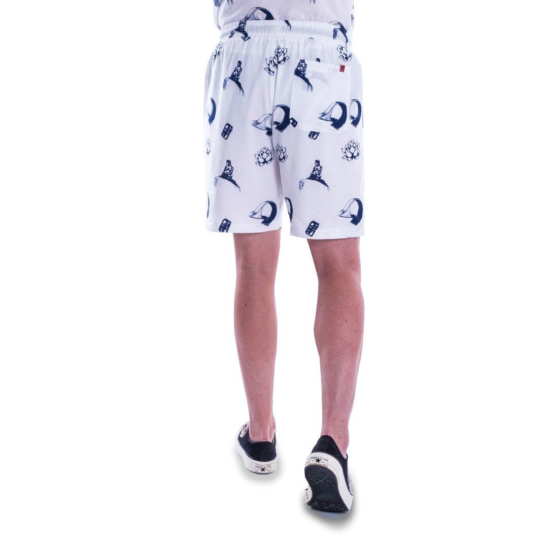 ALIS Lotus shorts, broken white, medium