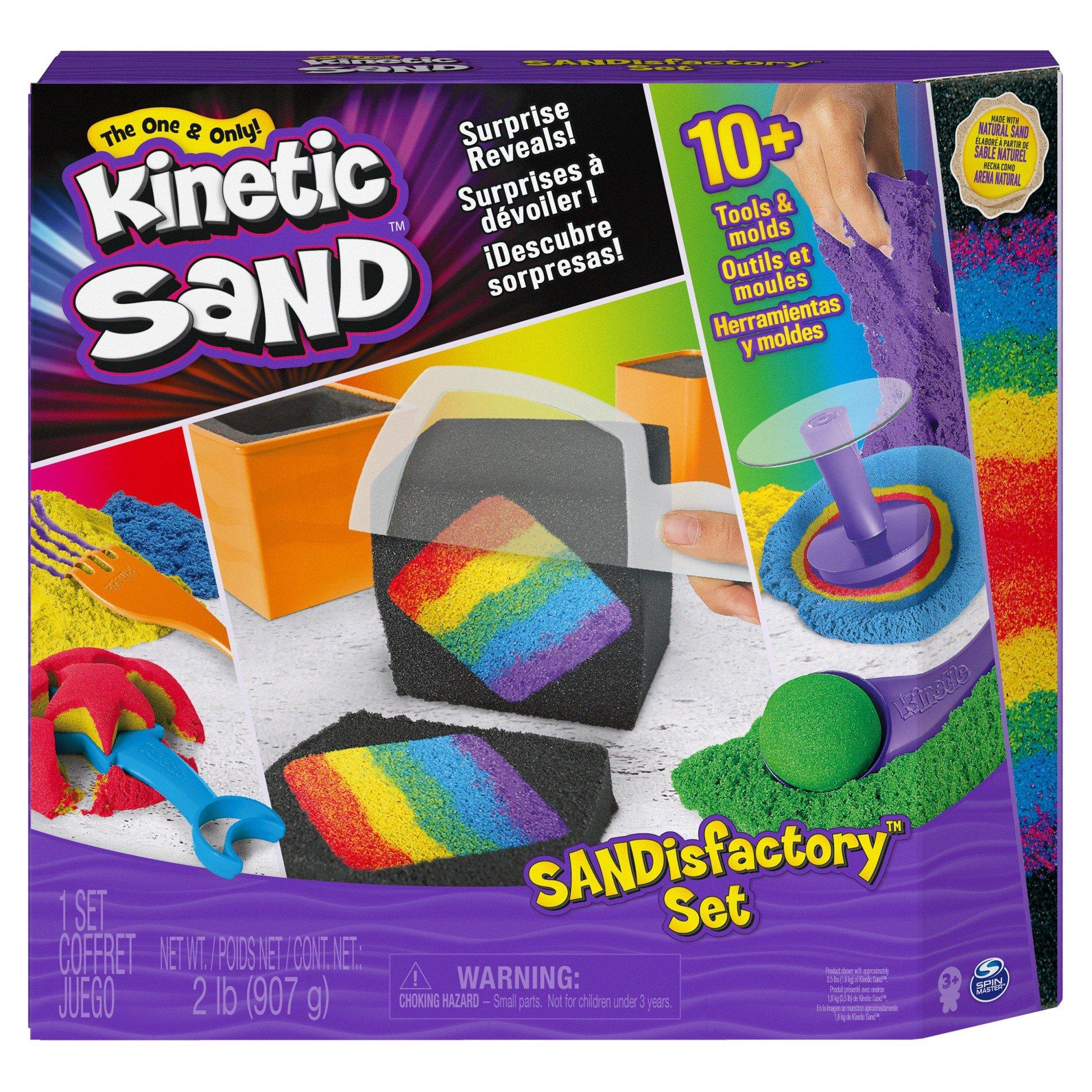 Kinectic Sand Sandisfactory Sæt