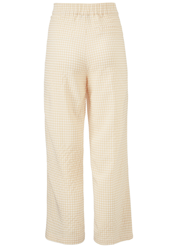Modström Jimmy bukser, beige check, x-small