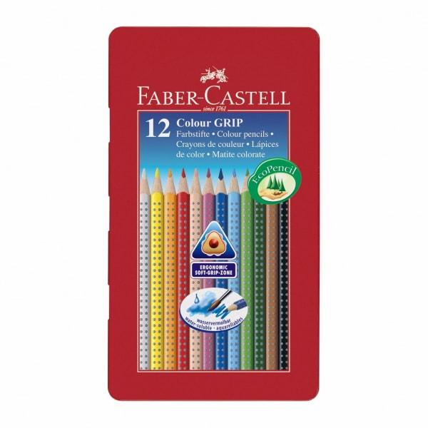 Faber-Castell Colour Grip farveblyant, 12 stk.