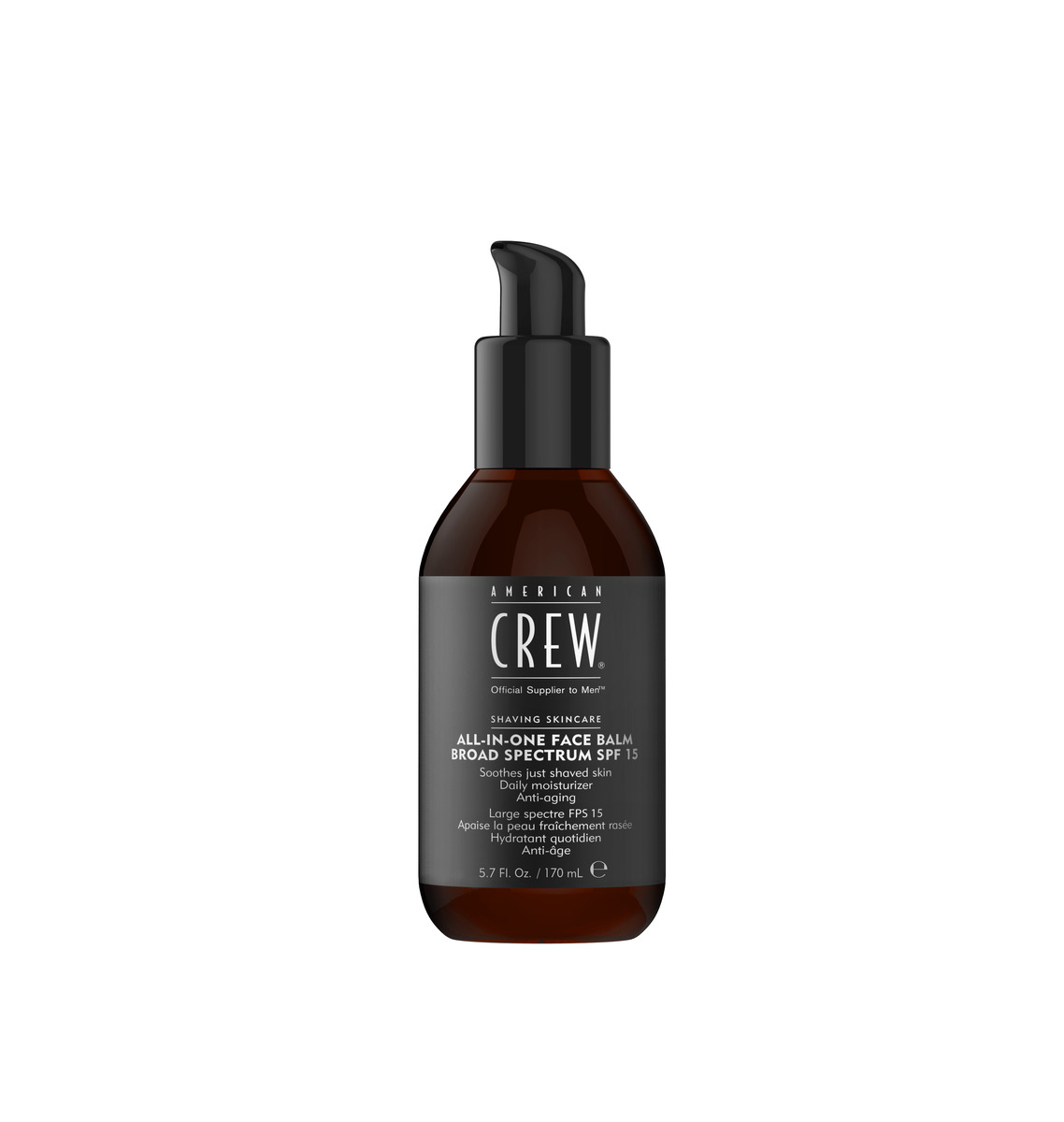American Crew All-In-One Face Balm, SPF 15, 170 ml