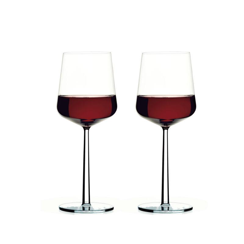 Iittala Essence rødvinsglas, 450 ml, 2 stk