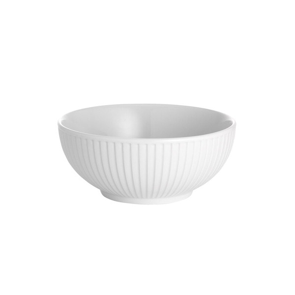 Pillivuyt Plisse skål, Ø15 cm, hvid