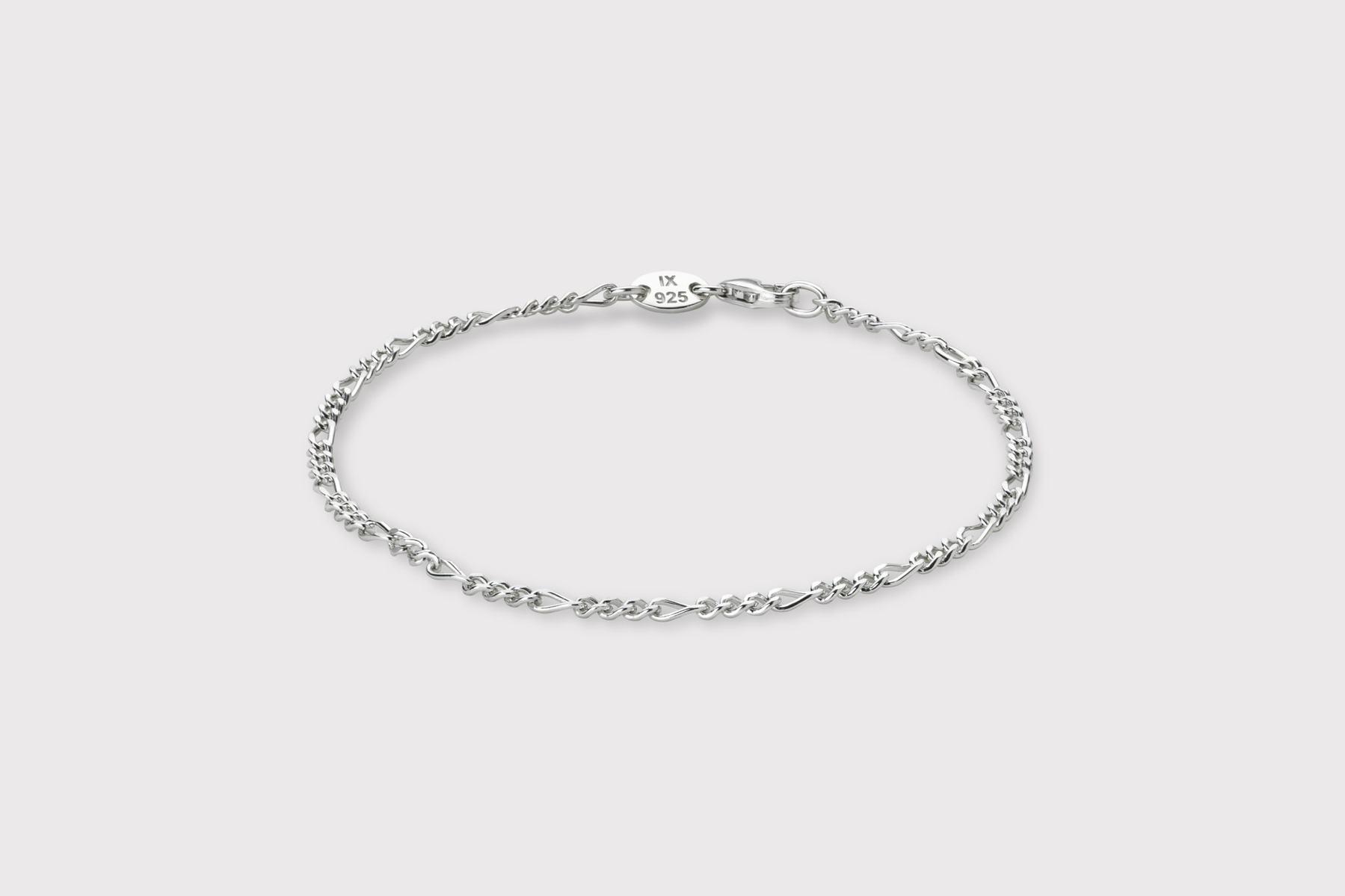 Frederik IX Studios Figaro armbånd, silver, 20