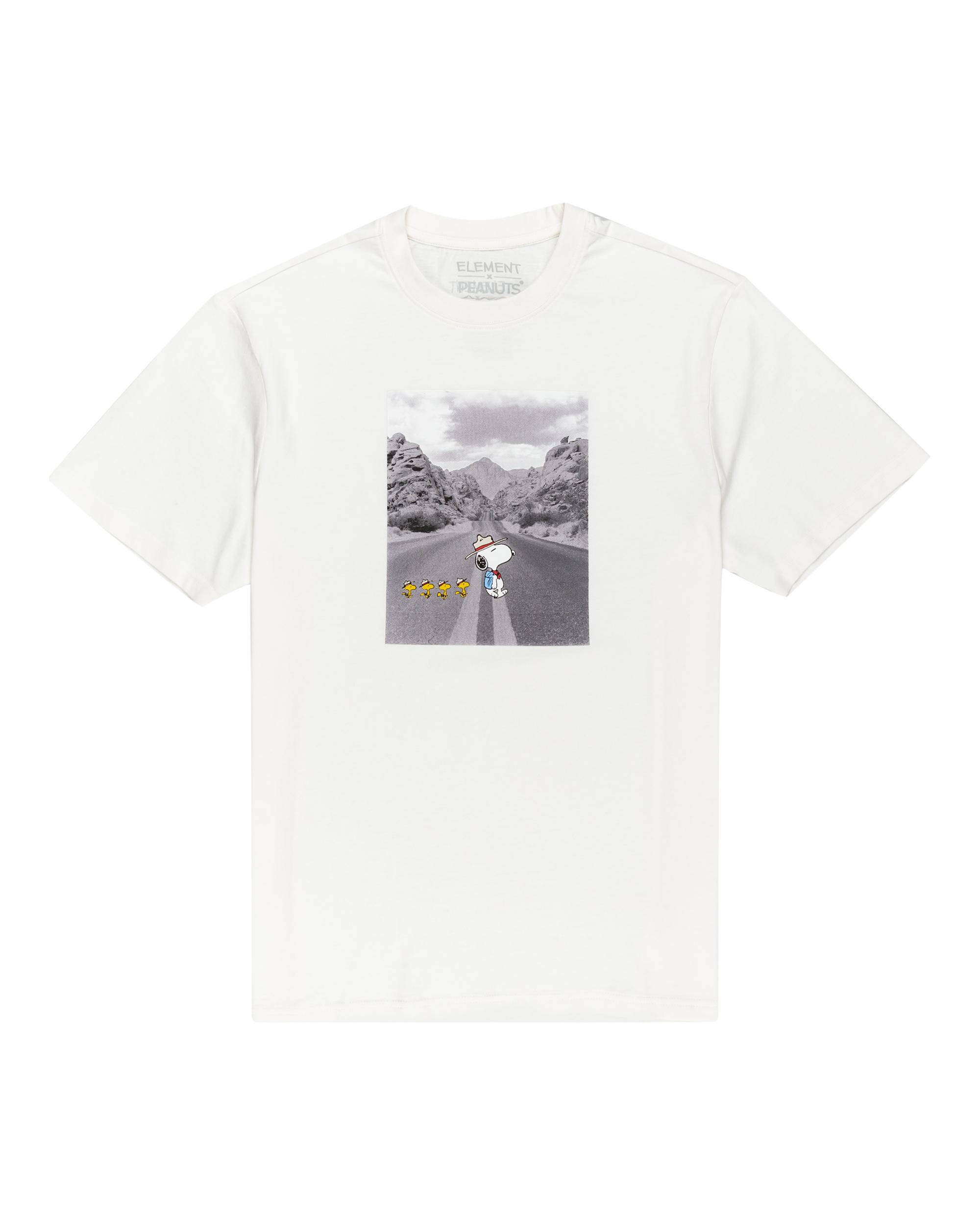 Element Peanuts t-shirt m. print