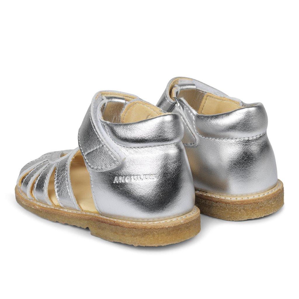 Angulus 0572-101 sandal, sølv, 25