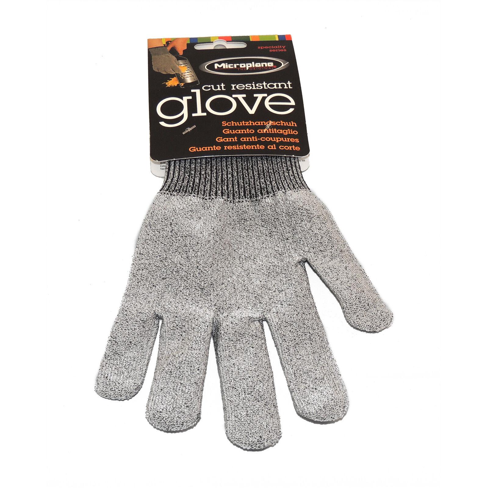 Microplane skæreresistent handske, grå