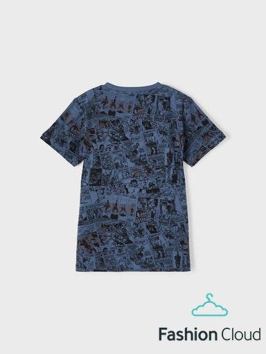 Name It Marvel Kaptan T-shirt, Bering Sea, 146-152 cm