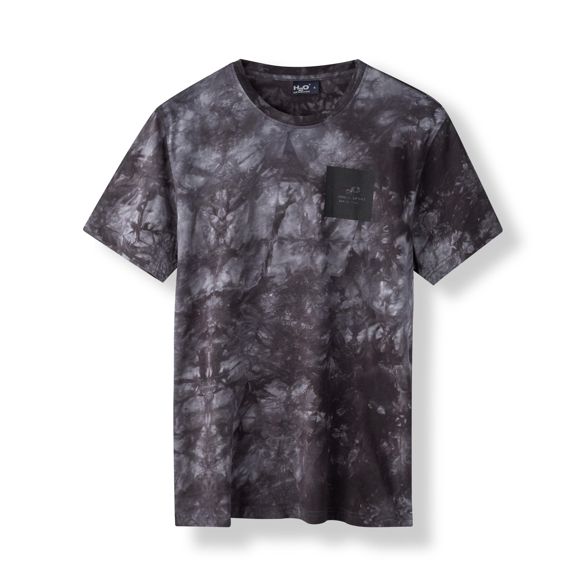 H2O Ribe Tie Dye t-shirt, black, small