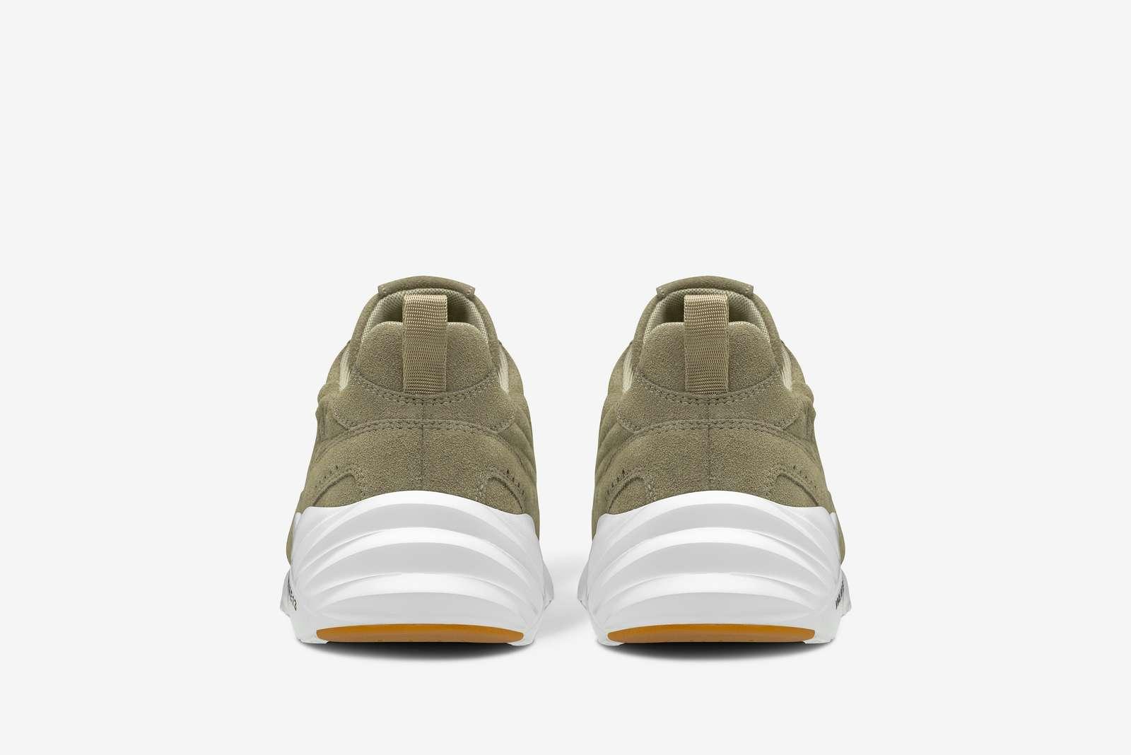 ARKK Copenhagen Tencraft Suede sneakers, army gum, 42
