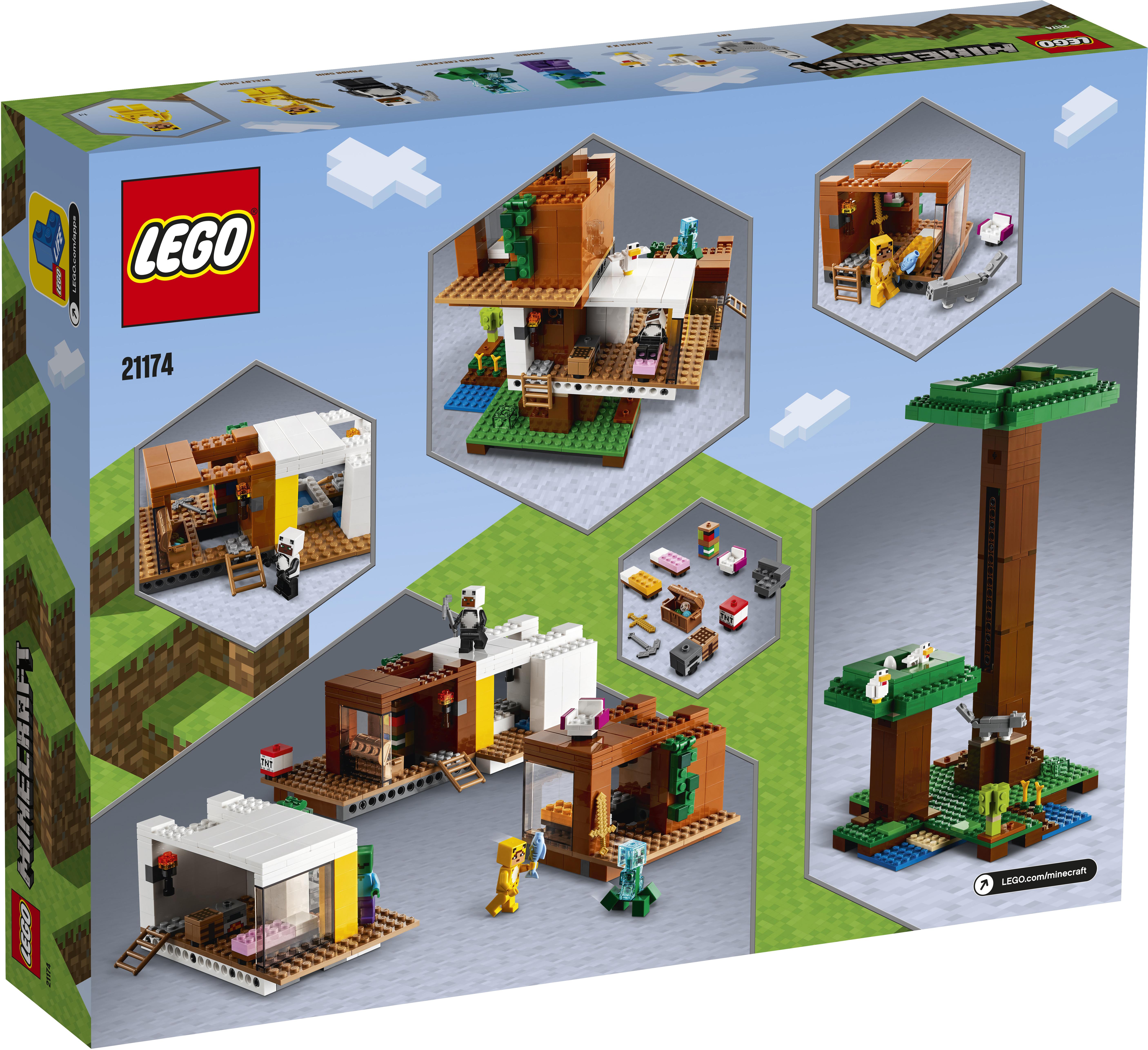 LEGO Minecraft Det moderne trætophus - 21174
